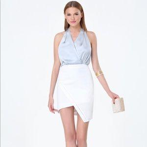 Bebe Asymmetric Skirt